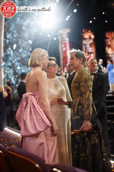Saoirse Ronan, Frances Mcdormand - Hollywood - 05-03-2018 - Oscar 2018: Frances McDormand salva una cerimonia blanda