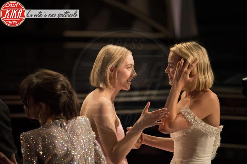 Margot Robbie, Saoirse Ronan - Hollywood - 05-03-2018 - Oscar 2018: Frances McDormand salva una cerimonia blanda