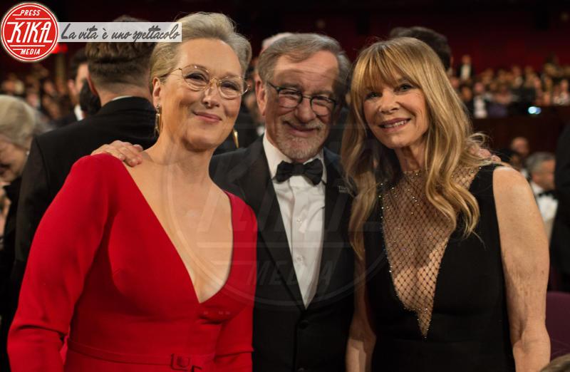 Steven Spielberg, Meryl Streep - Hollywood - 05-03-2018 - Oscar 2018: Frances McDormand salva una cerimonia blanda