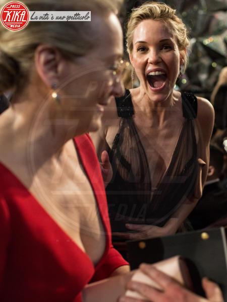 Leslie Bibb, Meryl Streep - Hollywood - 05-03-2018 - Oscar 2018: Frances McDormand salva una cerimonia blanda