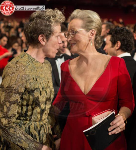 Frances Mcdormand, Meryl Streep - Hollywood - 05-03-2018 - Oscar 2018: Frances McDormand salva una cerimonia blanda