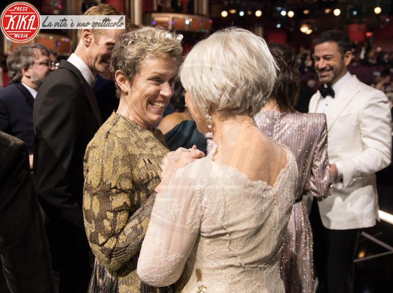 Frances Mcdormand, Helen Mirren - Hollywood - 05-03-2018 - Oscar 2018: Frances McDormand salva una cerimonia blanda