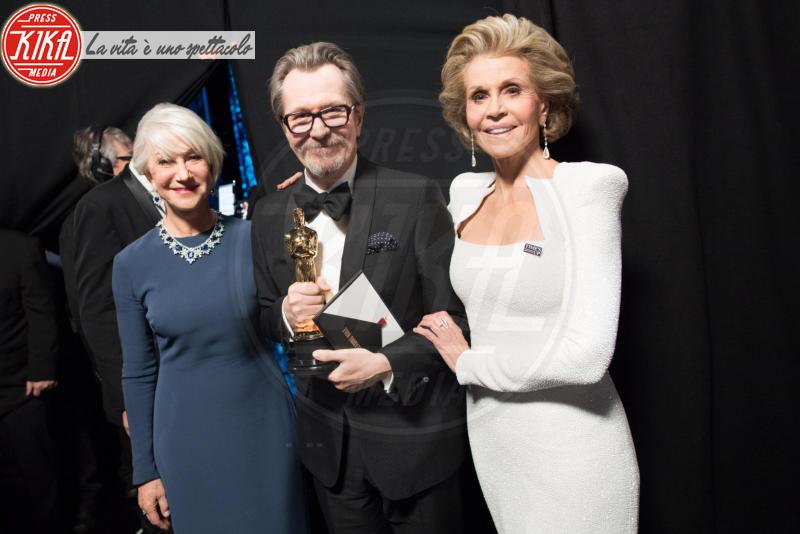 Jane Fonda, Gary Oldman, Helen Mirren - Hollywood - 05-03-2018 - Oscar 2018: Frances McDormand salva una cerimonia blanda