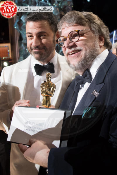 Guillermo del Toro, Jimmy Kimmel - Hollywood - 05-03-2018 - Oscar 2018: Frances McDormand salva una cerimonia blanda