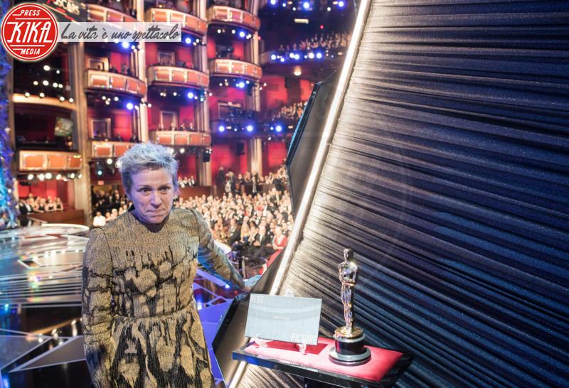 Frances Mcdormand - Hollywood - 05-03-2018 - Oscar 2018: Frances McDormand salva una cerimonia blanda
