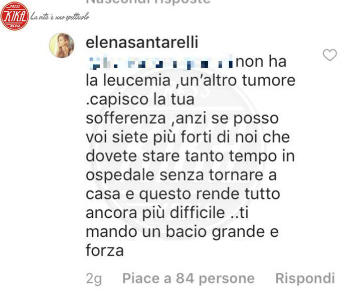 Elena Santarelli - 12-03-2018 - Elena Santarelli rivela la malattia del figlio Giacomo
