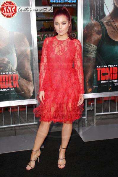 Erin Robinson - Hollywood - 12-03-2018 - Alicia Vikander, raffinata Lara Croft alla prima di Tomb Raider