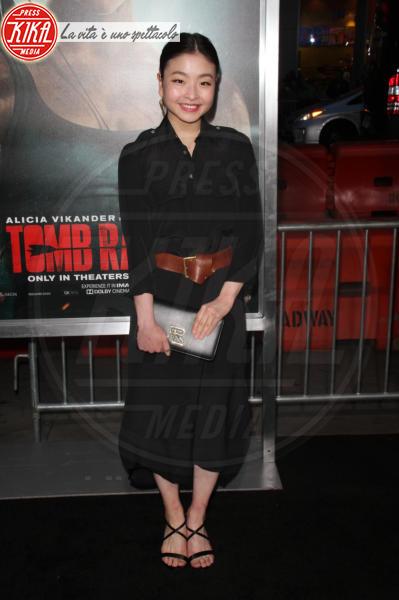 Mari Takahashi - Hollywood - 12-03-2018 - Alicia Vikander, raffinata Lara Croft alla prima di Tomb Raider