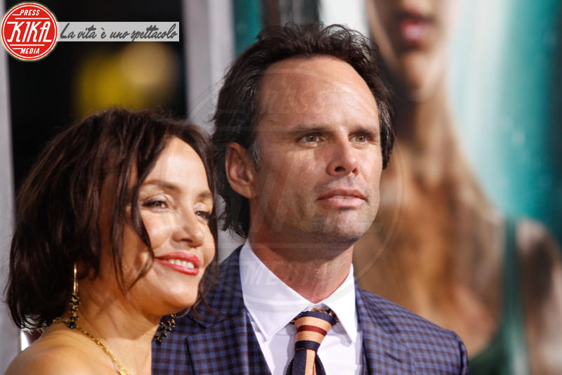 Nadia Conners, Walton Goggins - Hollywood - 12-03-2018 - Alicia Vikander, raffinata Lara Croft alla prima di Tomb Raider