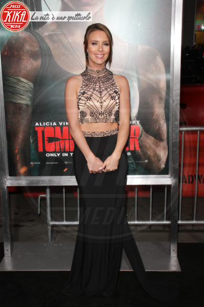Amy Pemberton - Hollywood - 12-03-2018 - Alicia Vikander, raffinata Lara Croft alla prima di Tomb Raider