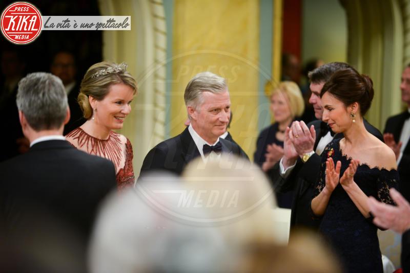 Re Filippo del Belgio, Regina Mathilde del Belgio - Ottawa - 13-03-2018 - Mathilde del Belgio: casual o galà, sempre regina di stile
