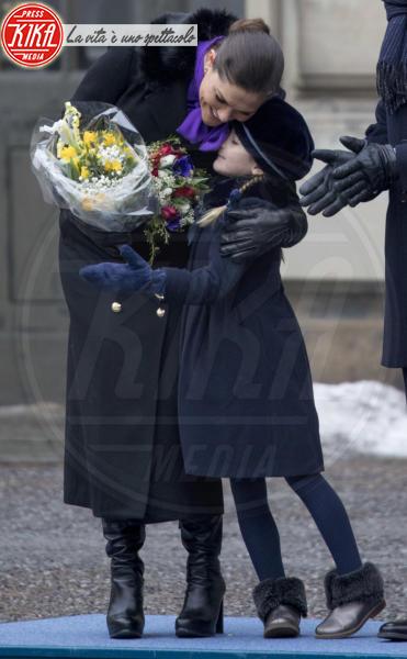 Principessa Estelle di Svezia, Principessa Victoria di Svezia - Stoccolma - 12-03-2018 - Victoria ed Estelle di Svezia: l'outfit è sempre coordinato!