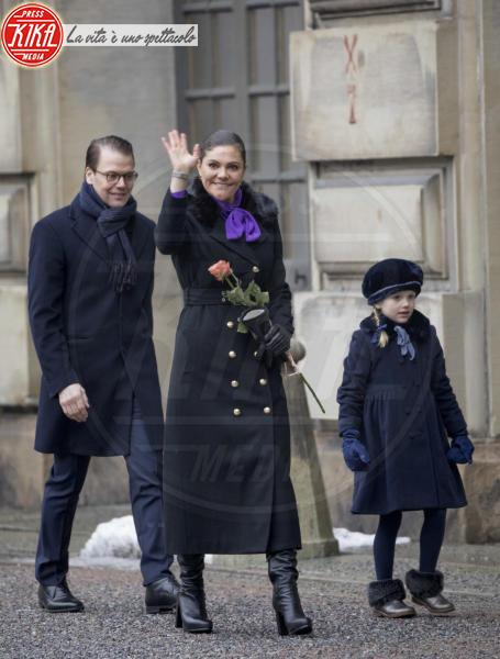 Principessa Estelle di Svezia, Principessa Victoria di Svezia, Daniel Westling - Stoccolma - 12-03-2018 - Victoria ed Estelle di Svezia: l'outfit è sempre coordinato!