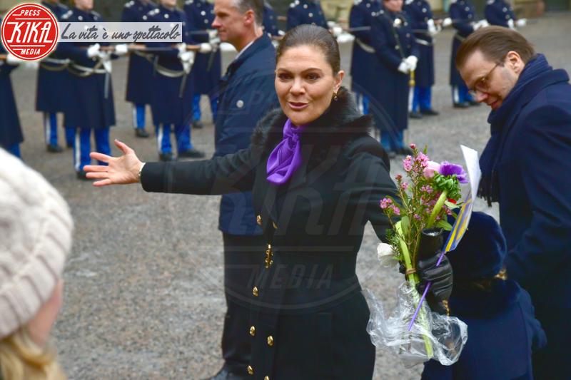 Principessa Victoria di Svezia - Stoccolma - 12-03-2018 - Victoria ed Estelle di Svezia: l'outfit è sempre coordinato!