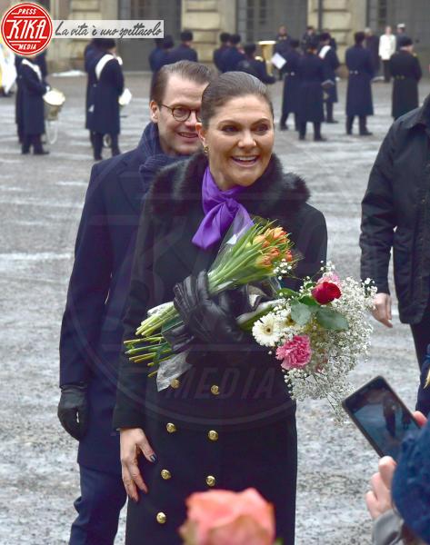 Principessa Victoria di Svezia, Daniel Westling - Stoccolma - 12-03-2018 - Victoria ed Estelle di Svezia: l'outfit è sempre coordinato!