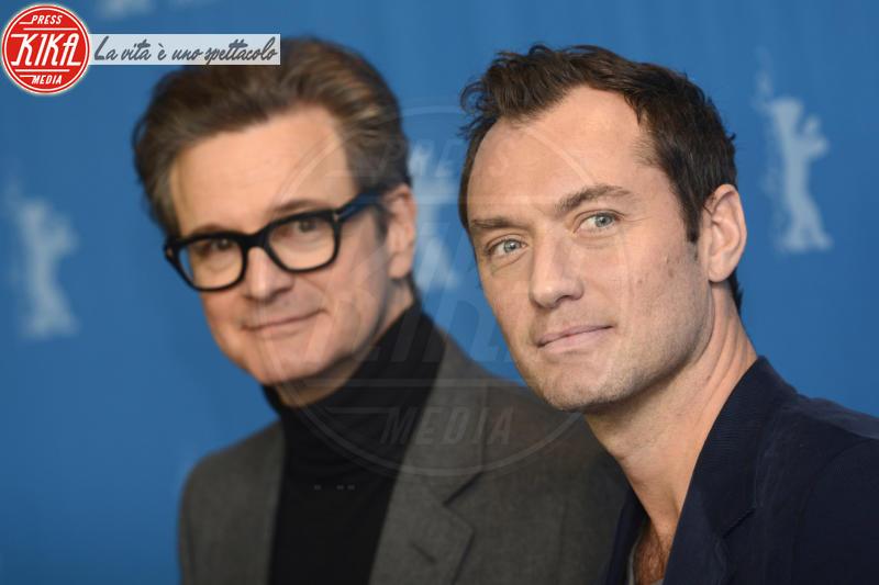 Colin Firth, Jude Law - Berlino - 16-02-2016 - Jude Law nei panni di Albus Silente? Wow!