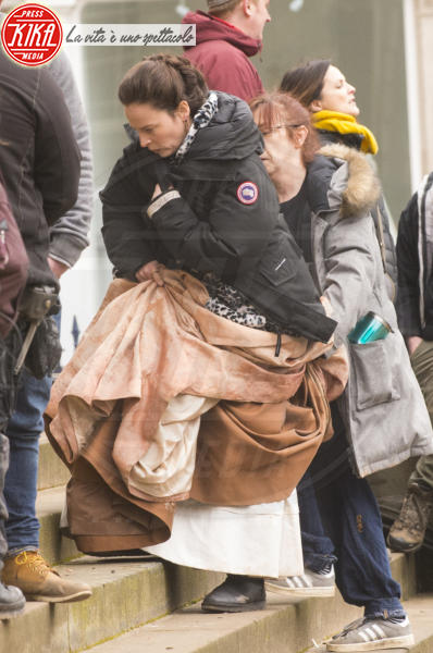 Outlander - Glasgow - 14-03-2018 - Sam Heughan, the King of Men sul set di Outlander