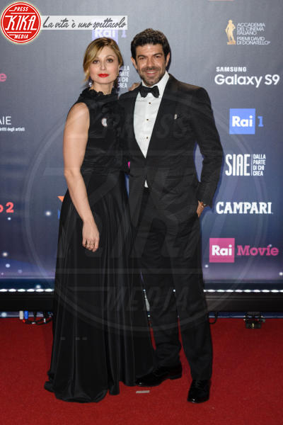 Anna Ferzetti, Pierfrancesco Favino - Roma - 21-03-2018 - David di Donatello 2018: gli stilisti sul red carpet
