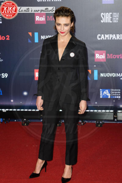 Jasmine Trinca - Roma - 21-03-2018 - David di Donatello 2018: gli stilisti sul red carpet