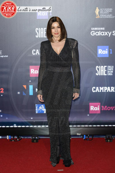 Monica Bellucci - Roma - 21-03-2018 - David di Donatello 2018: gli stilisti sul red carpet