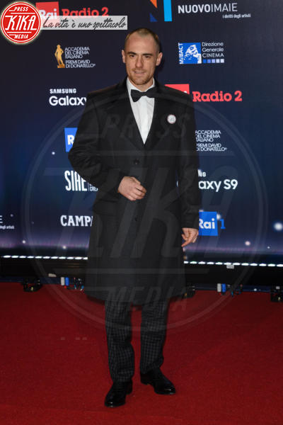 Elio Germano - Roma - 21-03-2018 - David di Donatello 2018: gli stilisti sul red carpet