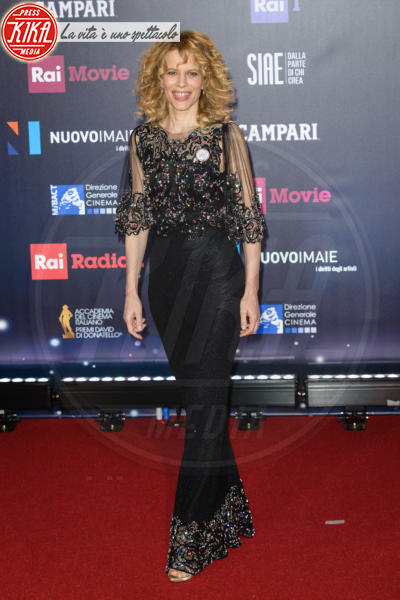 Sonia Bergamasco - Roma - 21-03-2018 - David di Donatello 2018: gli stilisti sul red carpet