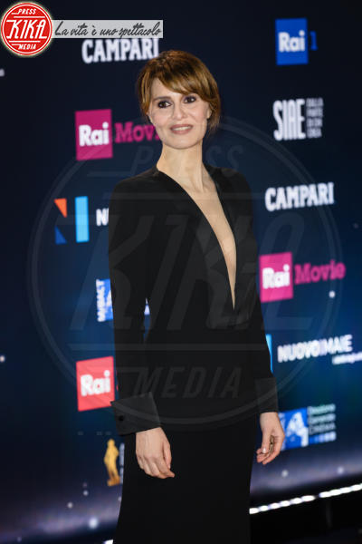 Paola Cortellesi - Roma - 21-03-2018 - David di Donatello 2018: gli stilisti sul red carpet