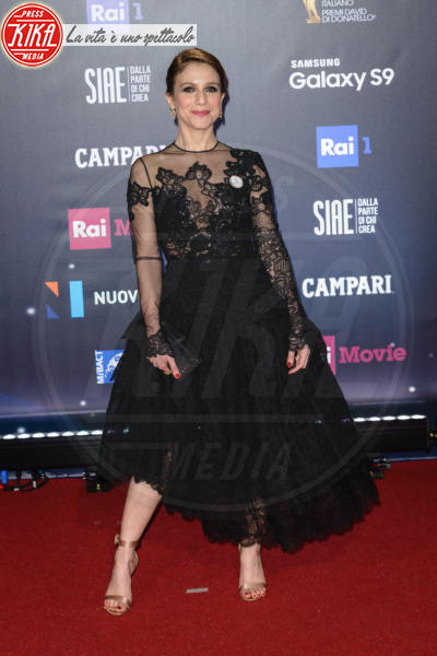 Isabella Ragonese - Roma - 21-03-2018 - David di Donatello 2018: gli stilisti sul red carpet