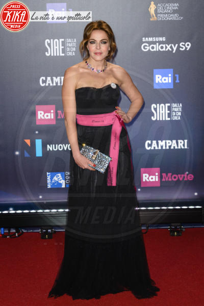 Claudia Gerini - Roma - 21-03-2018 - David di Donatello 2018: gli stilisti sul red carpet