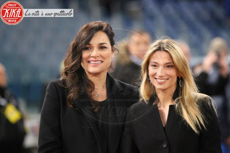 Partita Mundial, Margherita Granbassi, Alena Seredova - Roma - 21-03-2018 - Alena Seredova contro Ilaria d'Amico e Gigi Buffon: lo sfogo