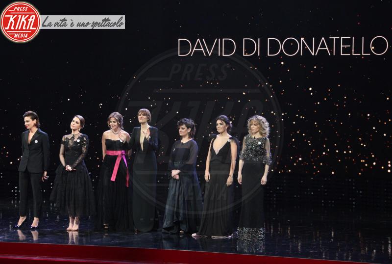 David di Donatello 2018 - Roma - 21-03-2018 - David, il monologo di Paola Cortellesi a nome di tutte le donne