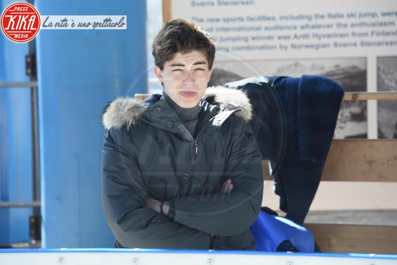 Federico Russo - Cortina - 23-03-2018 - Lezioni di curling per gli attori di Cortinametraggio