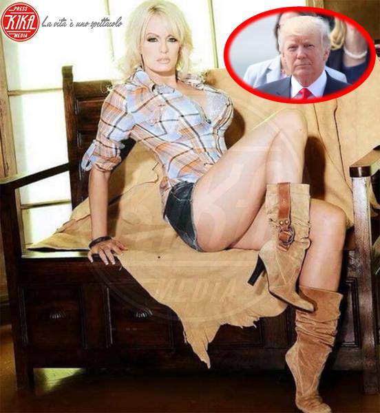 Stormy Daniels, Donald Trump - Washington - 25-03-2018 - Arrestata Stormy Daniels, la porno star dello scandalo Trump