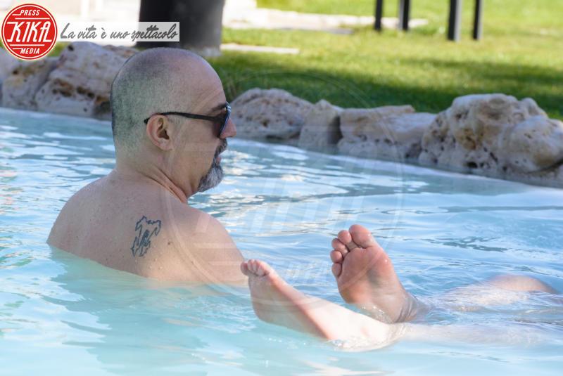 Stefano Maggi, Giovanni Ciacci - Viterbo - 01-04-2018 - Giovanni Ciacci e Stefano Maggi, giornata di relax alle terme