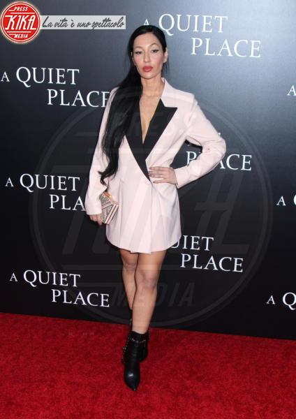 Kea Ho - New York - 02-04-2018 - Tutti zitti! Emily Blunt e John Krasinski nel loro Quiet Place