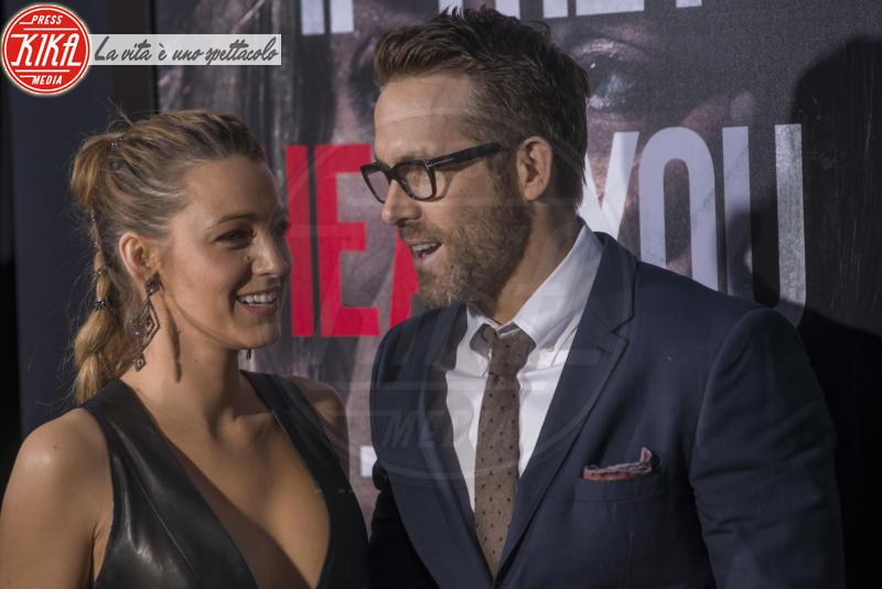 Blake Lively, Ryan Reynolds - New York - 03-04-2018 - Tutti zitti! Emily Blunt e John Krasinski nel loro Quiet Place