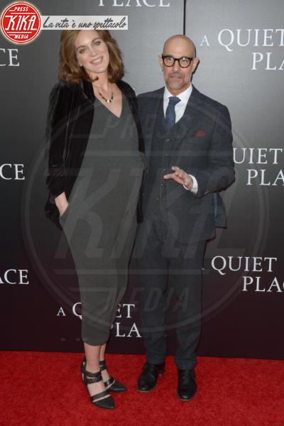 Felicity Blunt, Stanley Tucci - New York - 03-04-2018 - Tutti zitti! Emily Blunt e John Krasinski nel loro Quiet Place