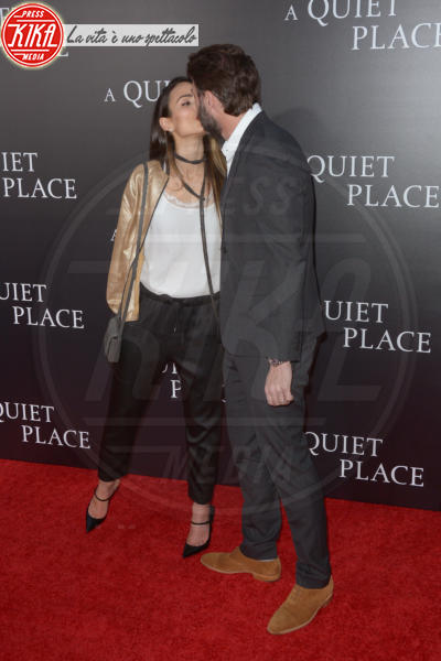 Andrew Form, Jordana Brewster - New York - 03-04-2018 - Tutti zitti! Emily Blunt e John Krasinski nel loro Quiet Place