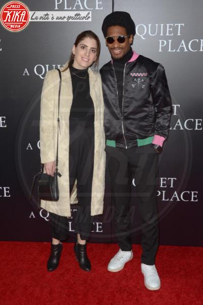 Guest - New York - 03-04-2018 - Tutti zitti! Emily Blunt e John Krasinski nel loro Quiet Place