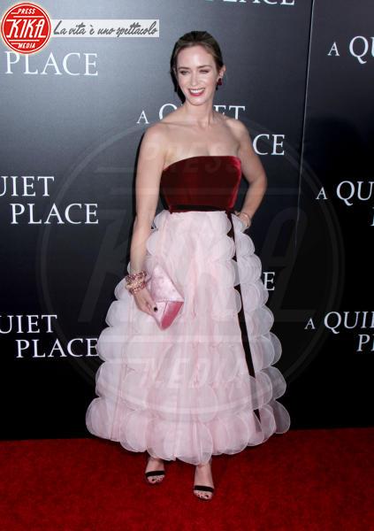 Emily Blunt - New York - 02-04-2018 - Tutti zitti! Emily Blunt e John Krasinski nel loro Quiet Place
