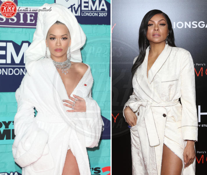 Taraji P. Henson, Rita Ora - 03-04-2018 - Chi lo indossa meglio? Rita Ora e Taraji P. Henson