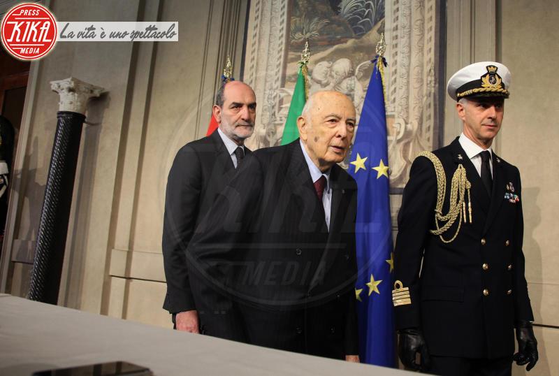 Giorgio Napolitano - Roma - 04-04-2018 - Esecutivo: consultazioni, via alle trattative in Quirinale