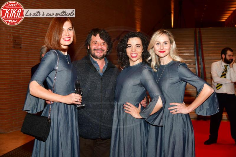 Ladyvette, Lillo - Roma - 05-04-2018 - Ariadna Romero sul red carpet da sogno di Agadah