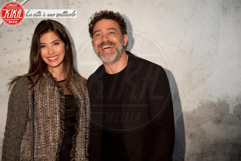 Christian Marazziti, Ariadna Romero - Roma - 05-04-2018 - Ariadna Romero sul red carpet da sogno di Agadah
