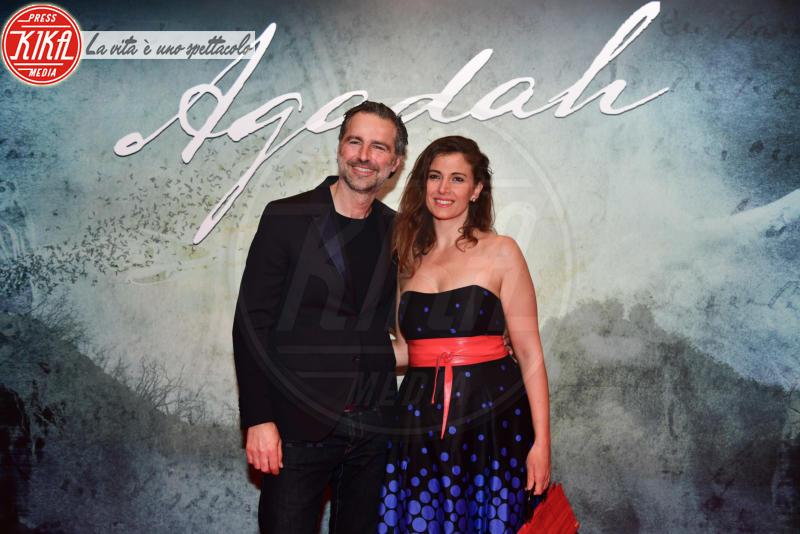 Alessandra Carrillo, Beppe Convertini - Roma - 05-04-2018 - Ariadna Romero sul red carpet da sogno di Agadah