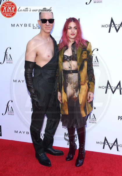 Frances Bean Cobain, Jeremy Scott - Beverly Hills - 08-04-2018 - Paris e Frances Bean, i LA Fashion Awards a tutto grunge