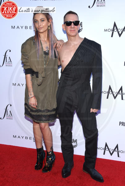 Paris Jackson, Jeremy Scott - Beverly Hills - 08-04-2018 - Paris e Frances Bean, i LA Fashion Awards a tutto grunge