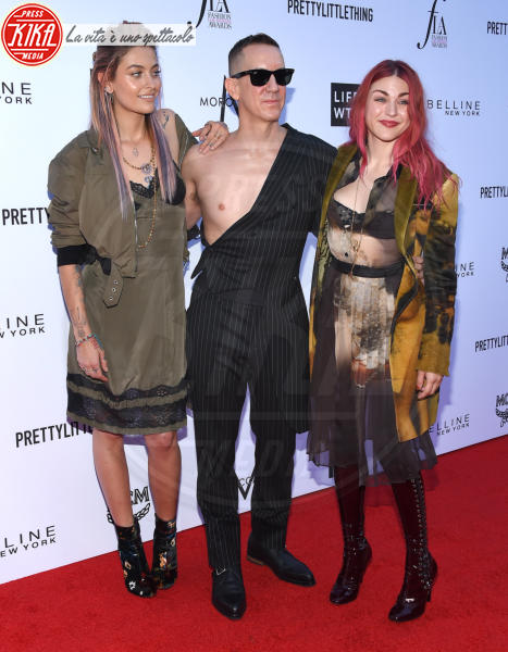 Frances Bean Cobain, Paris Jackson, Jeremy Scott - Beverly Hills - 08-04-2018 - Paris e Frances Bean, i LA Fashion Awards a tutto grunge