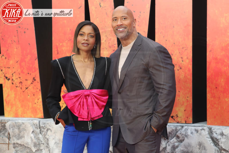 Dwayne Johnson, Naomie Harris - Londra - 11-04-2018 - Rampage, tutta la furia animale di Dwayne Johnson