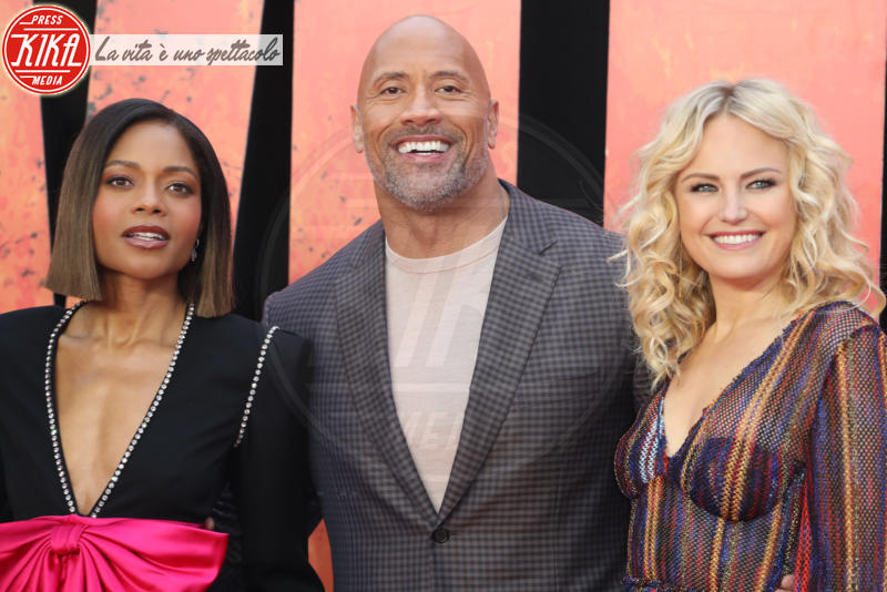 Dwayne Johnson, Naomie Harris, Malin Akerman - Londra - 11-04-2018 - Rampage, tutta la furia animale di Dwayne Johnson